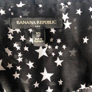 Banana Republic Tops - BR Star Print Blouse